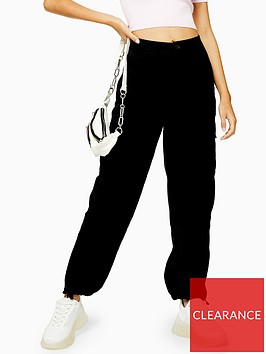 topshop-cuff-brandy-utility-trousers-black