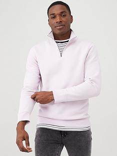 v-by-very-quarter-zip-funnel-neck-sweater-lilac