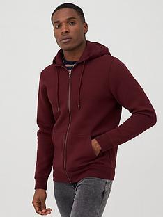 v-by-very-zip-through-hoodie-burgundy