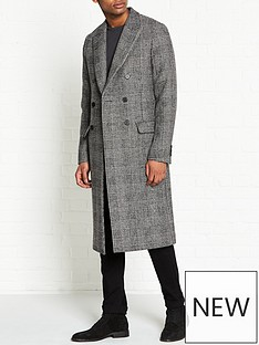 allsaints-danson-double-breasted-check-overcoat-blackgrey