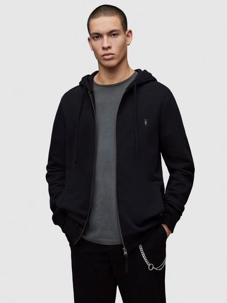 allsaints-raven-zip-through-hoodie-black