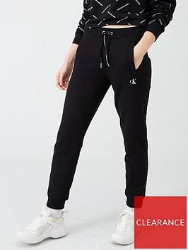 calvin-klein-jeans-embroidered-jogging-bottoms-black