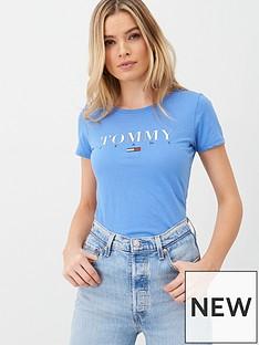 tommy-jeans-essential-slim-logo-t-shirt-blue