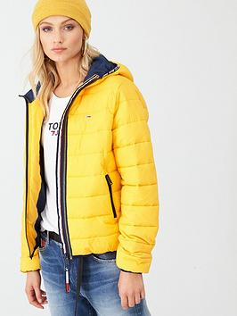 tommy-jeans-quilted-tape-detail-jacket-yellow