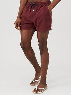 very-man-basic-swim-shorts-burgundy