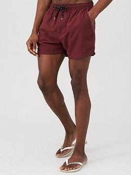 very-man-basic-swim-shorts-burgundy