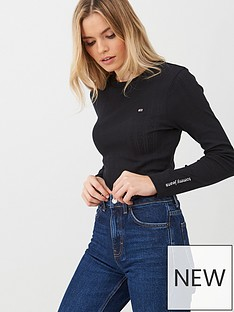 tommy-jeans-logo-detail-long-sleeve-top-black