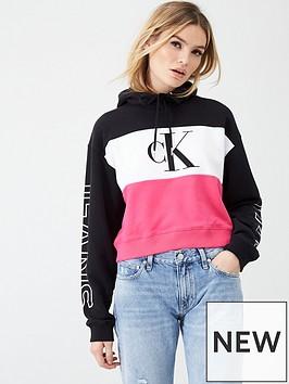 calvin-klein-jeans-colour-block-logo-hoodie-pink