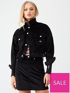 tommy-jeans-cropped-trucker-jacket-black