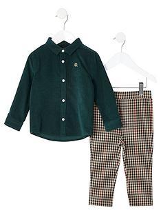 river-island-mini-green-cord-shirt-and-trouser-set