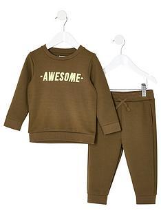 river-island-mini-mini-boys-awesome-sweatshirt-outfit-khaki