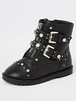 river-island-mini-mini-girls-embelished-biker-boots-black