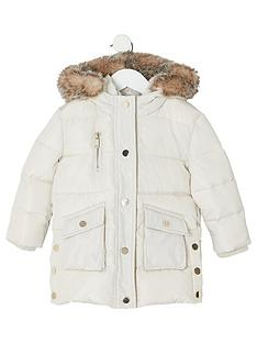 river-island-mini-mini-girls-padded-printed-longline-coat-cream