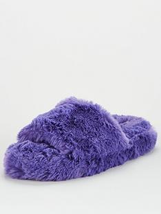 v-by-very-girls-fluffy-slider-purple