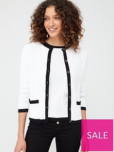 v-by-very-mono-button-up-short-cardigan-monochrome