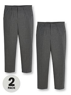 v-by-very-boys-2-pack-classic-woven-regular-school-trousers-grey