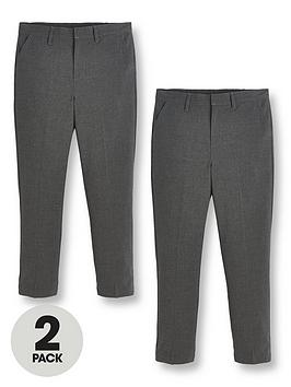v-by-very-boys-2-packnbspskinny-fit-school-trousers-grey