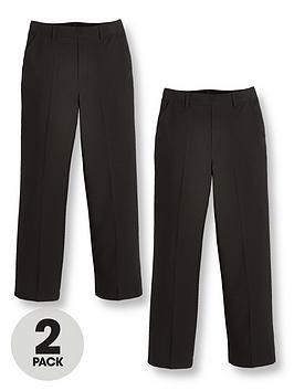 v-by-very-boys-2-packnbsppull-on-school-trousers-black