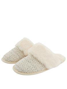 monsoon-cassie-chenille-knitted-lurex-mule-slipper-ivory