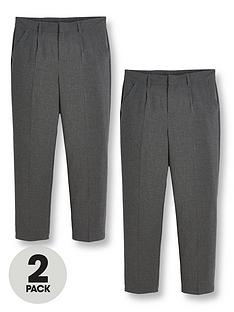 v-by-very-boys-2-pack-classic-woven-plus-sizenbspschool-trousers-grey