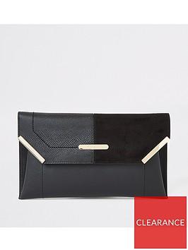 river-island-envelope-clutch-bag-black
