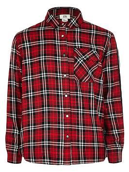 river-island-red-check-ls-side-stripe-shirt