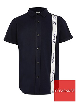 river-island-boys-prolific-tape-polo-navy