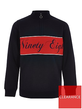 river-island-boys-half-zip-sweatshirt-navy