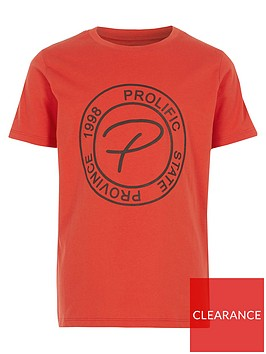 river-island-boys-prolific-embossed-tape-tshirt-orange