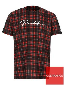 river-island-boys-check-prolific-tape-tshirt-red