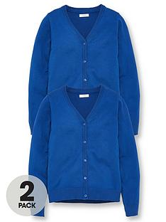 v-by-very-girls-2-pack-school-cardigans-royal-blue