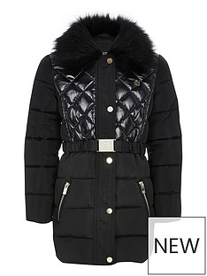 river-island-girls-longline-padded-coat-black