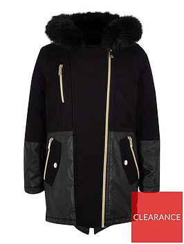 river-island-girls-parka-coat-black