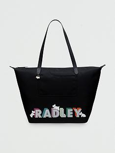 radley-pocket-essentials-london-lights-large-ziptop-tote-bag-black