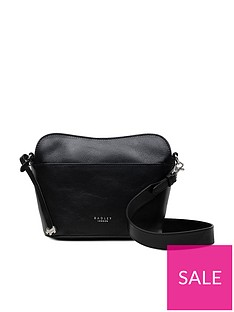 radley-asher-way-medium-zip-top-cross-body-bag-black