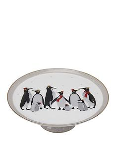 sara-miller-penguin-footed-cake-plate