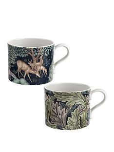 morris-co-set-of-2-mugs-ndash-brook-amp-acanthus