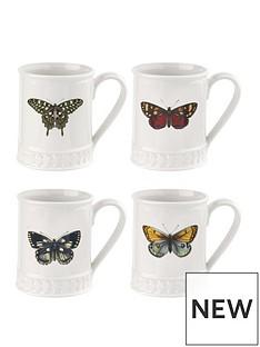 portmeirion-botanic-garden-harmony-tankard-white-with-butterfly-set-of-4
