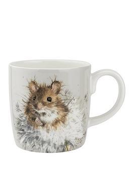 royal-worcester-wrendale-dandelion-mouse-mug