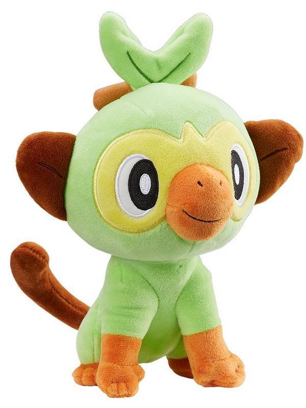 Pokemon 8 Inch Plush Grookey Very Co Uk Made of soft material (polyester). 8 inch plush grookey