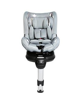 My Babiie Orbit Group 0+/1 Grey Stars Spin Car Seat