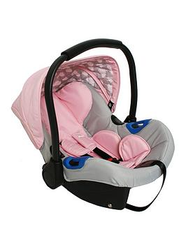 My Babiie Group 0+ Pink Clouds Car Seat
