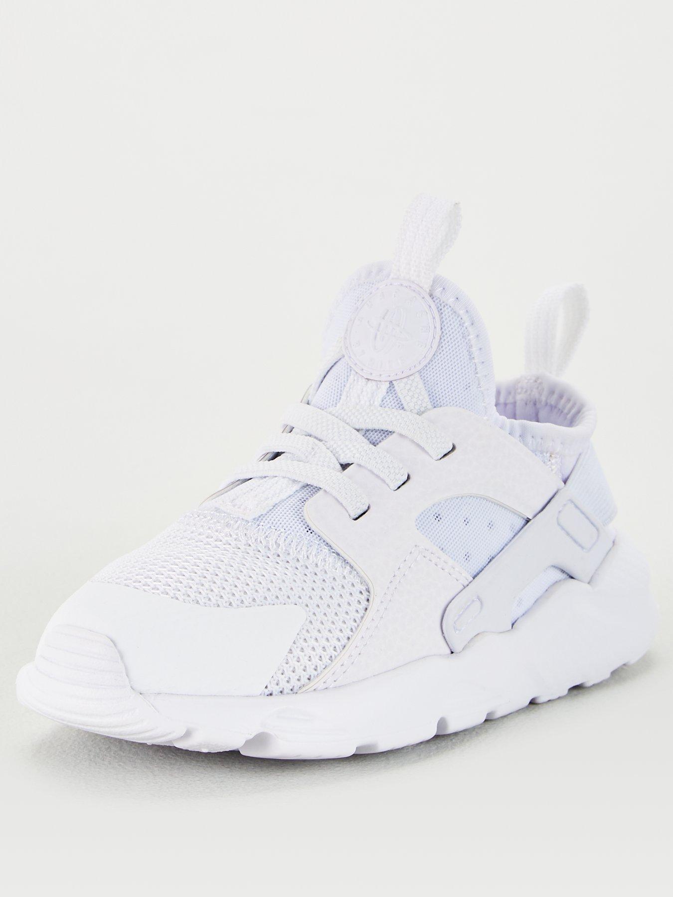 Huarache Run Ultra Infant Trainers - White