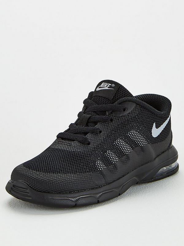 the best 100% quality promo code Nike Air Max Invigor Print Infant Trainers - Black/Grey | very.co.uk
