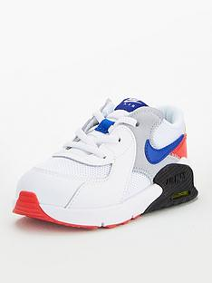 nike-air-max-excee-infant-trainers-whitebluered