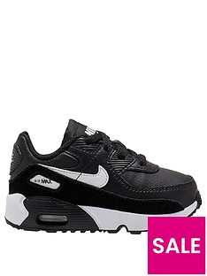 nike-air-max-90-infant-trainers-blackwhite