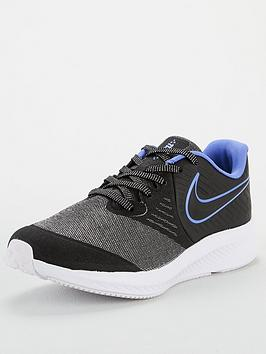 nike-star-runner-2-glitter-junior-trainers-blackblue