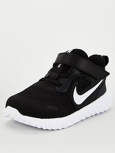 nike-revolution-5-infant-trainers-blackwhite