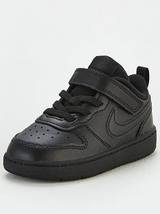 nike-court-borough-low-2-infant-trainers-blackblack