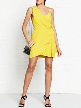 vestire-pretty-hurts-mini-dress-mustard